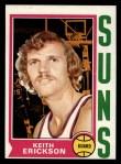 1974 Topps #53  Keith Erickson  Front Thumbnail