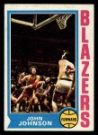1974 Topps #66  John Johnson  Front Thumbnail