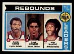 1974 Topps #148  Dave Cowens / Elvin Hayes / Bob McAdoo  Front Thumbnail