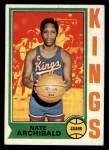 1974 Topps #170  Nate Archibald  Front Thumbnail