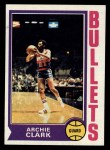 1974 Topps #172  Archie Clark  Front Thumbnail