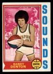 1974 Topps #189  Randy Denton  Front Thumbnail