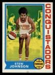 1974 Topps #214  Stew Johnson  Front Thumbnail