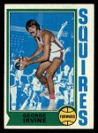 1974 Topps #233  George Irvine  Front Thumbnail