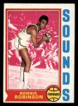 1974 Topps #251  Ronnie Robinson  Front Thumbnail
