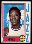 1974 Topps #119  Curtis Perry  Front Thumbnail