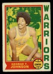 1974 Topps #159  George Johnson  Front Thumbnail