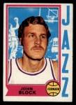 1974 Topps #168  John Block  Front Thumbnail