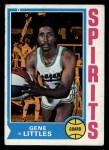 1974 Topps #184  Gene Littles  Front Thumbnail