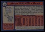 1974 Topps #45  Jimmy Walker  Back Thumbnail