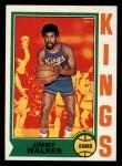 1974 Topps #45  Jimmy Walker  Front Thumbnail