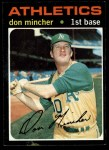 1971 Topps #680  Don Mincher  Front Thumbnail