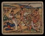 1938 Gum Inc. Horrors of War #47   Fierce Wallega Tribesmen Attack Italian Aces Front Thumbnail