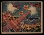 1938 Gum Inc. Horrors of War #113   Franco's Planes Strafe Barcelona by Night Front Thumbnail