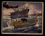 1938 Gum Inc. Horrors of War #203   Jap Launches Halt British Ship Whangpoo Front Thumbnail