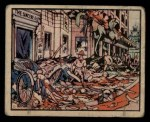 1938 Gum Inc. Horrors of War #28   Shanghai Shoppers Blown Up by Bombs Front Thumbnail