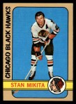 1972 Topps #56  Stan Mikita  Front Thumbnail