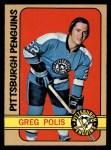 1972 Topps #43  Greg Polis  Front Thumbnail