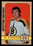 1972 Topps #13  Ed Johnston  Front Thumbnail