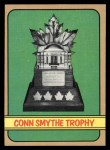 1972 Topps #176   Conn Smythe Trophy Front Thumbnail