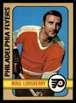 1972 Topps #112  Ross Lonsberry  Front Thumbnail