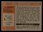 1972 Topps #118  Bill Mikkelson  Back Thumbnail