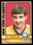 1972 Topps #118  Bill Mikkelson  Front Thumbnail