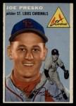 1954 Topps #135  Joe Presko  Front Thumbnail
