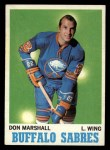 1970 Topps #129  Don Marshall  Front Thumbnail