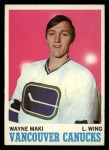 1970 Topps #116  Wayne Maki  Front Thumbnail