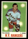 1970 Topps #65  Ted Irvine  Front Thumbnail