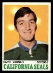 1970 Topps #70  Carol Yadnais  Front Thumbnail