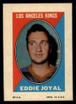 1970 Topps O-Pee-Chee Sticker Stamps #16  Eddie Joyal  Front Thumbnail