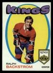 1971 Topps #108  Ralph Backstrom  Front Thumbnail