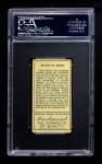 1911 T205  Rube Kroh  Back Thumbnail