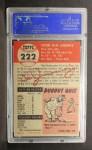 1953 Topps #222  Vic Janowicz  Back Thumbnail