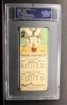 1911 T201 Mecca  Tommy Clarke / Harry Gaspar  Back Thumbnail