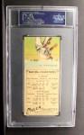 1911 T201 Mecca  Bobby Byrne / Fred Clarke  Back Thumbnail