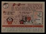 1958 Topps #98 ^WN^ Billy Hunter  Back Thumbnail