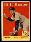 1958 Topps #98 ^WN^ Billy Hunter  Front Thumbnail