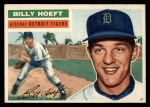 1956 Topps #152 GRY Billy Hoeft  Front Thumbnail