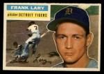 1956 Topps #191  Frank Lary  Front Thumbnail