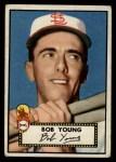 1952 Topps #147 CRM Bob Young  Front Thumbnail