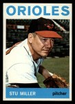 1964 Topps #565  Stu Miller  Front Thumbnail