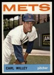 1964 Topps #84  Carlton Willey  Front Thumbnail