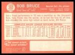 1964 Topps #282  Bob Bruce  Back Thumbnail