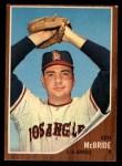 1962 Topps #268  Ken McBride  Front Thumbnail