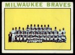 1964 Topps #132   Braves Team Front Thumbnail