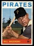 1964 Topps #570  Bill Mazeroski  Front Thumbnail