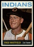 1964 Topps #367  Fred Whitfield  Front Thumbnail